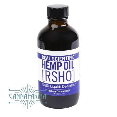 Aceite de CBD en botella de HempMeds