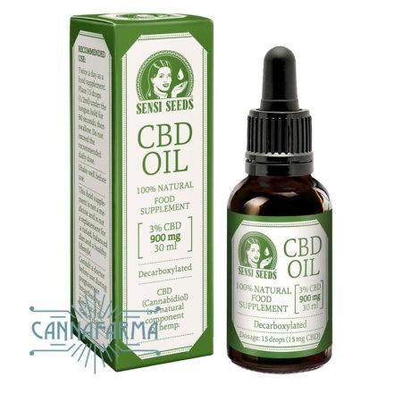 Aceite de CBD en gotero de Sensi Seeds