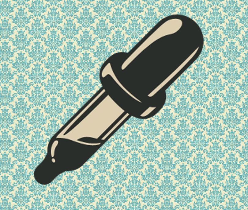dibujo de pipeta dosificada