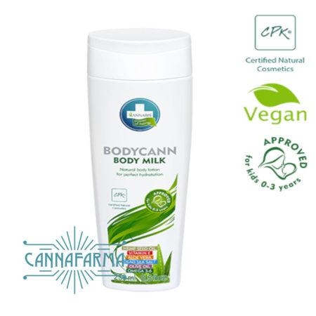 Bodycann body milk natural